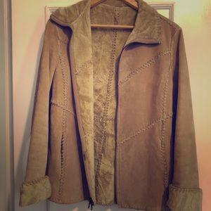 Vintage genuine leather jacket